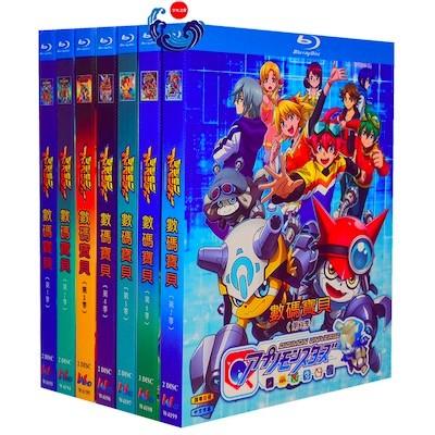 デジモン 第1+2+3+4+5+6+7作+劇場版+Tri+SP [豪華版] Blu-ray BOX 全巻