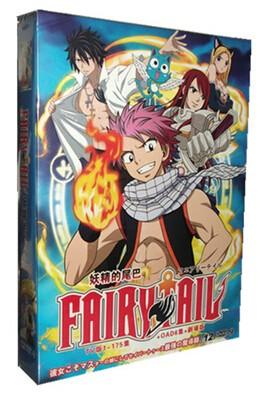 FAIRY TAIL フェアリーテイル 全175話+OAD+劇場版 DVD-BOX 全巻