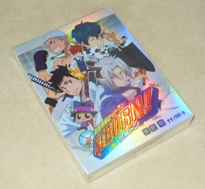 家庭教師ヒットマンREBORN! (リボーン) 全203話 豪華版 DVD-BOX 全巻