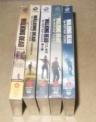 ウォーキング・デッド (The Walking Dead) SEASON 1+2+3+4+5 全巻36枚組 DVD-BOX